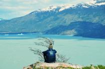 View on Lago Grey